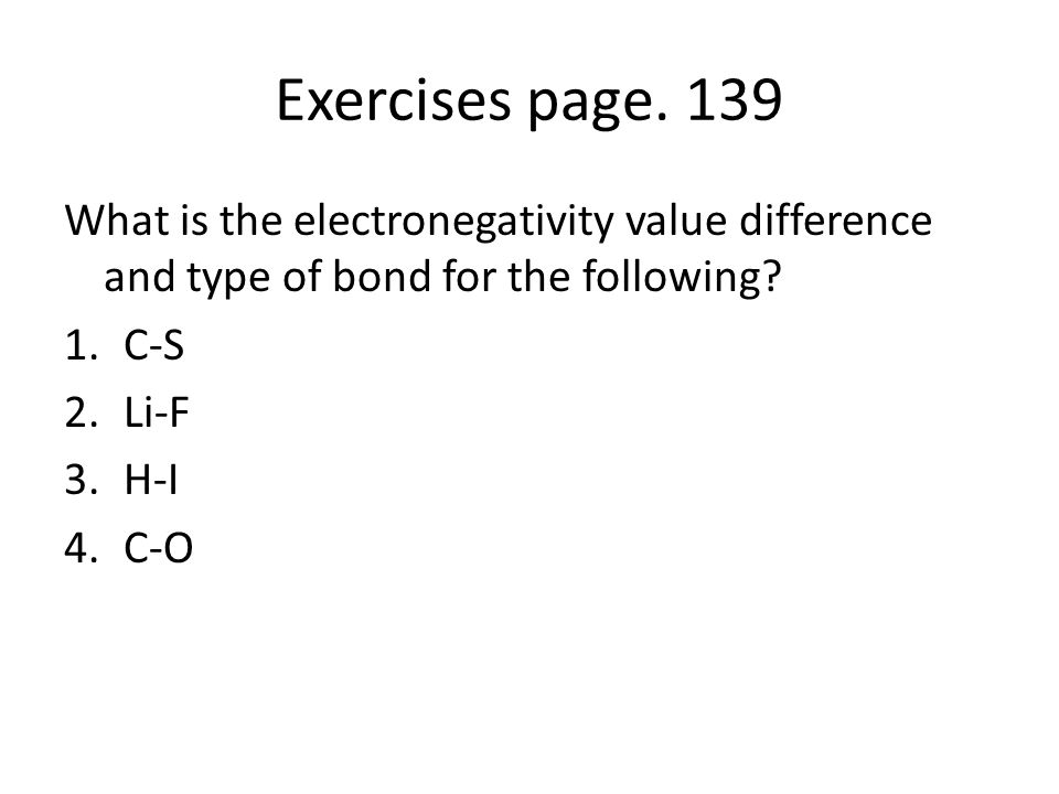 Exercises page.
