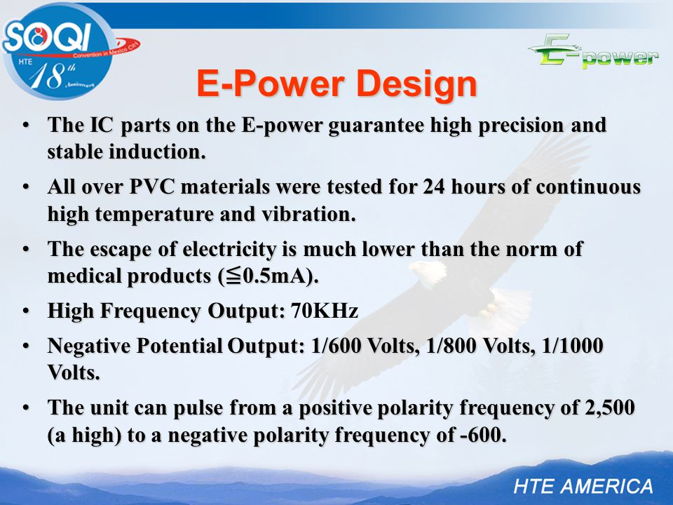 The IC parts on the E-power guarantee high precision and stable induction.The IC parts on the E-power guarantee high precision and stable induction.