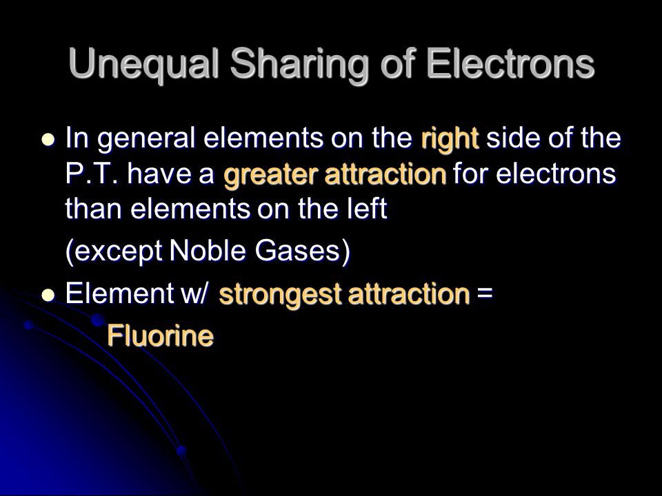 Multiple Covalent Bonds More than 1 pair of electrons can be shared More than 1 pair of electrons can be shared Represented by a long dash between the