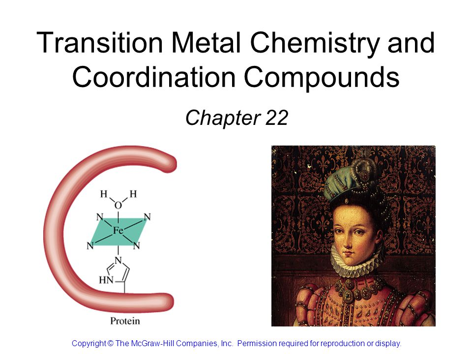22.1 The Transition Metals