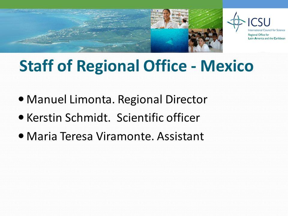 José Antonio de la Peña(Chairman), México Patricio Felmer, Chile; Tara Dasgupta, Jamaica; Arturo Martinez, Argentina; Mahabir Gupta, Panama; Enrique P.
