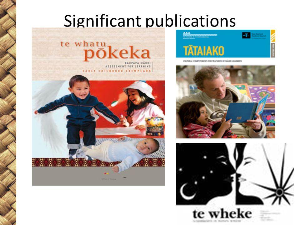 Significant publications