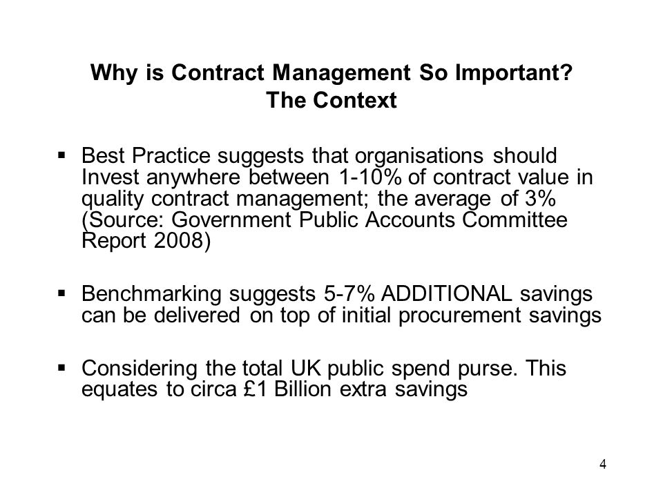 5 Why is Contract Management So Important.