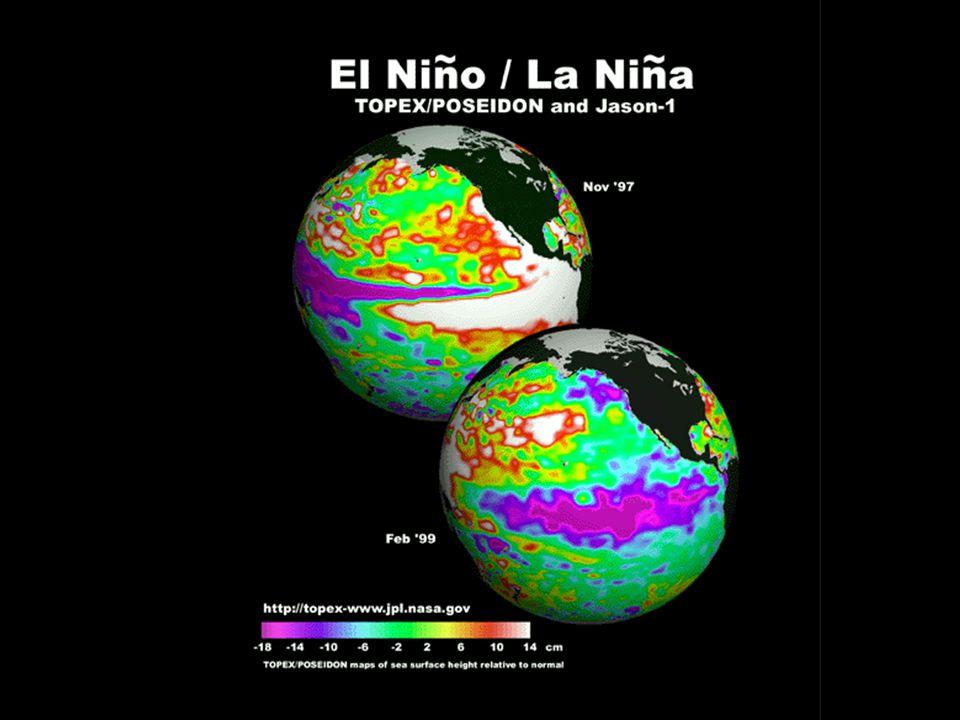 El Nino – Typical surface ocean circulation