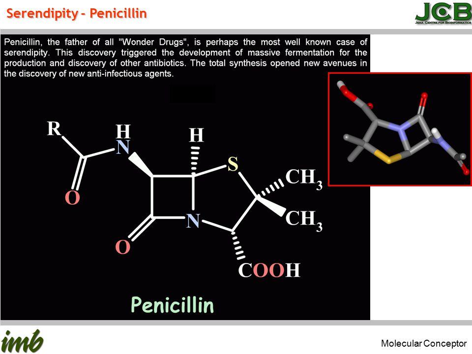Serendipity - Penicillin Molecular Conceptor
