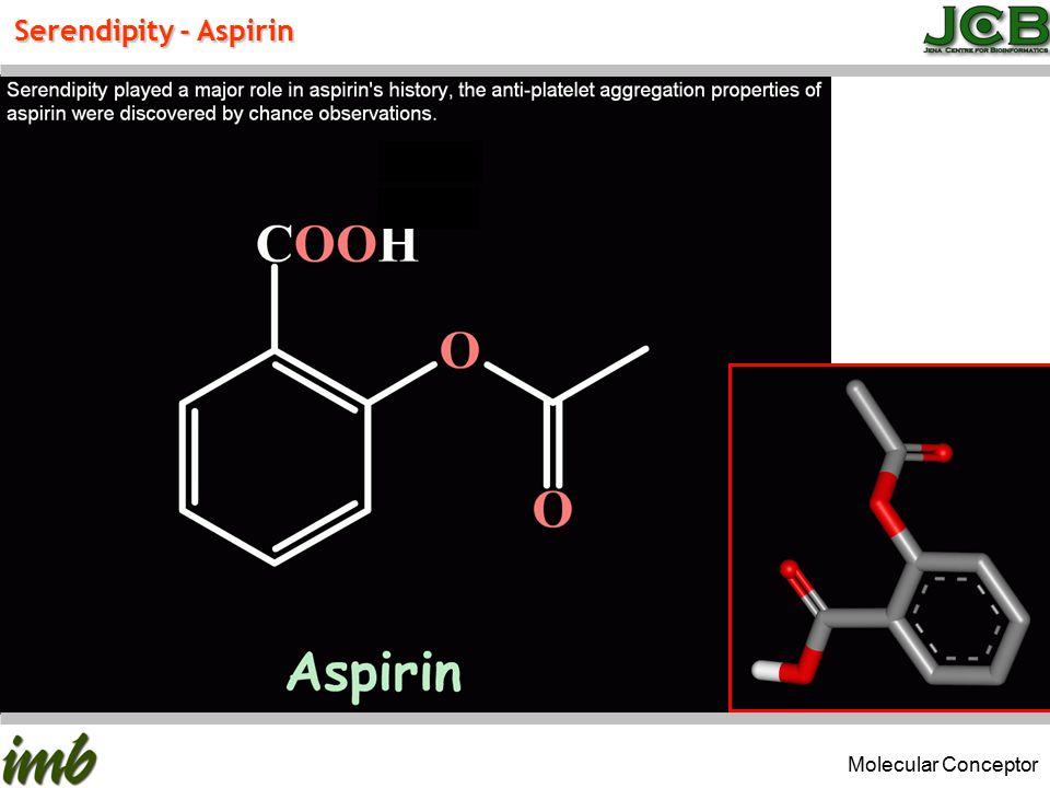 Serendipity - Aspirin Molecular Conceptor