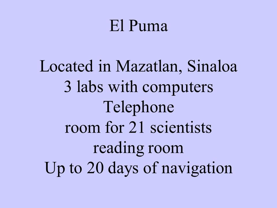 If you want EL Puma for more than 10 days APPLY NOW!.