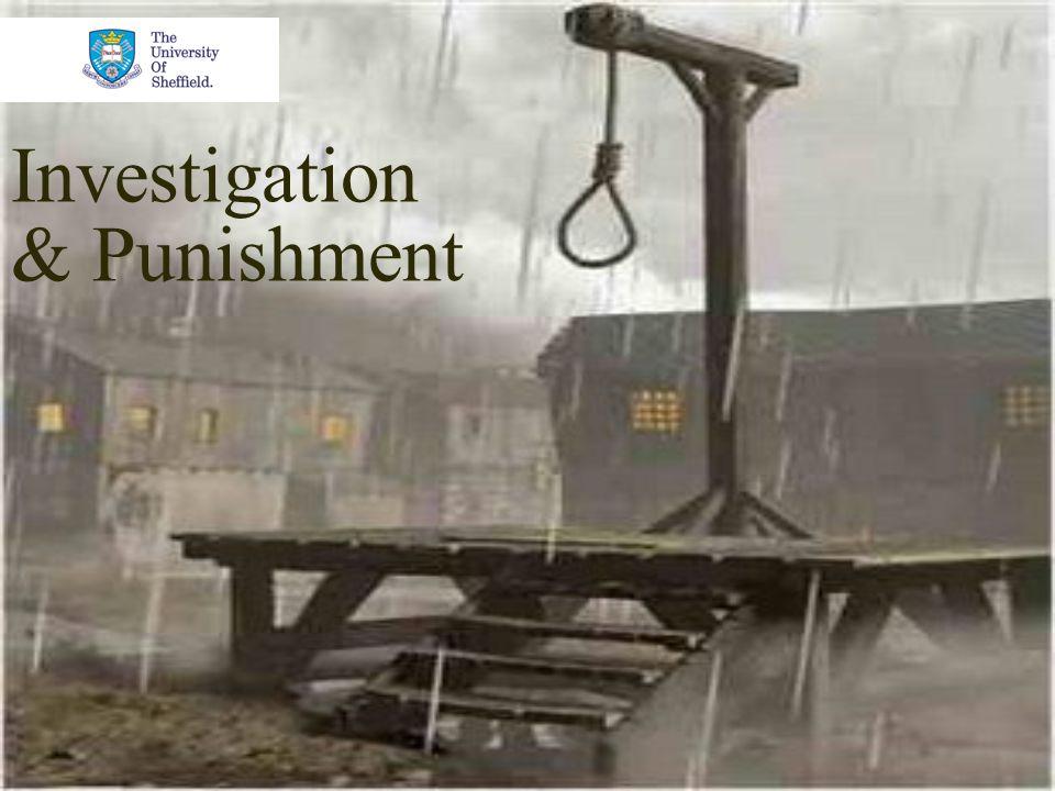 Investigation & Punishment