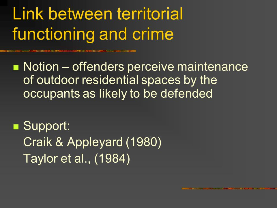 Results - Interview Summary of findings Both respondents A & B displayed more territorial features before the incident.