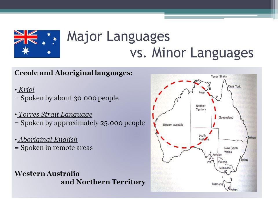 2 Major Languages vs.
