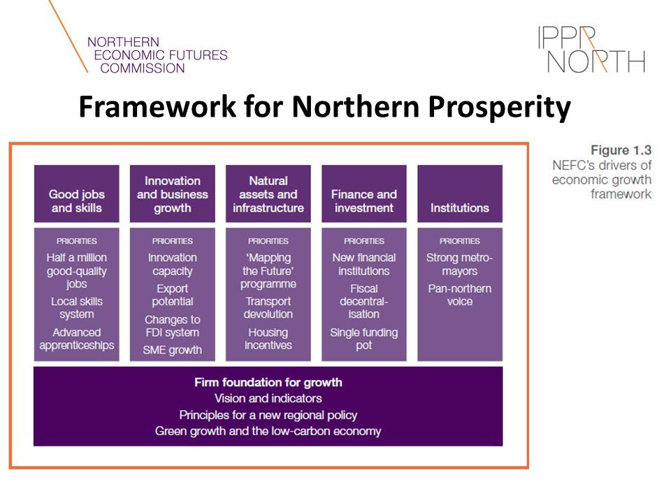 Framework for Northern Prosperity