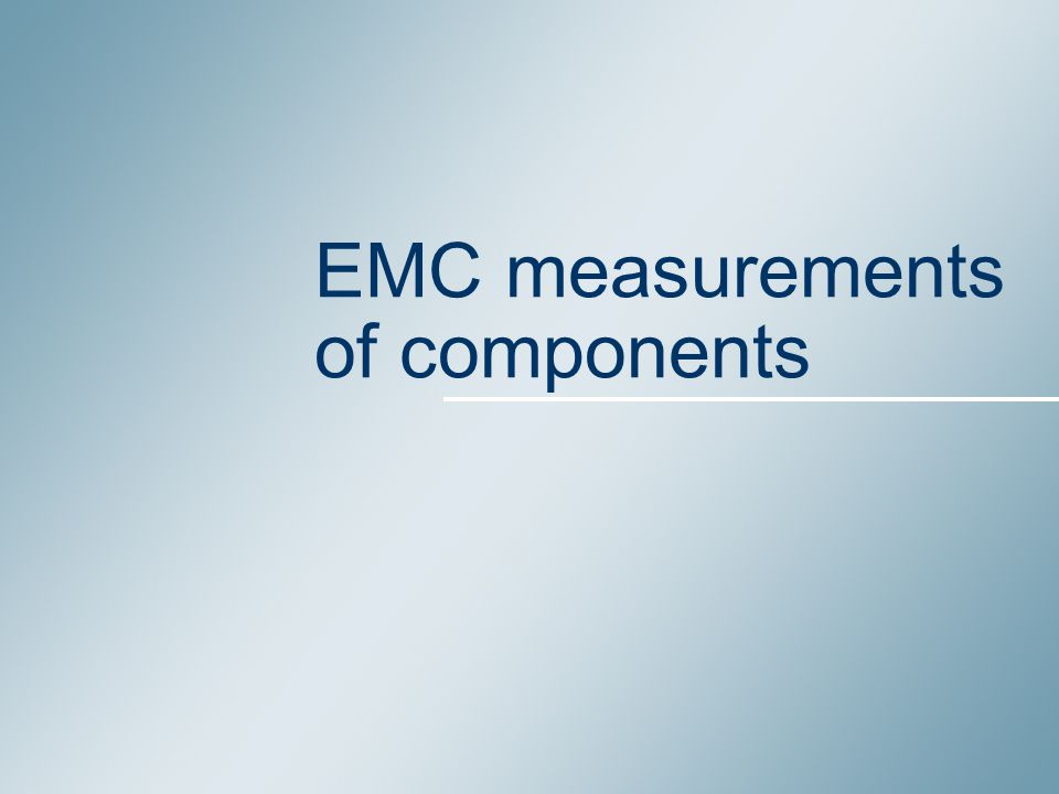 2 Summary 1.EMC problem examples 2. EM disturbance sources 3.