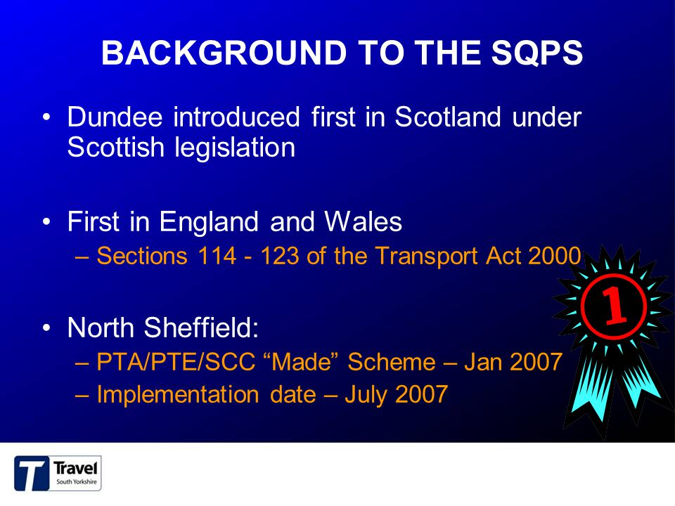 WHAT IS A SQPS.An option to deliver the Bus Strategy…..