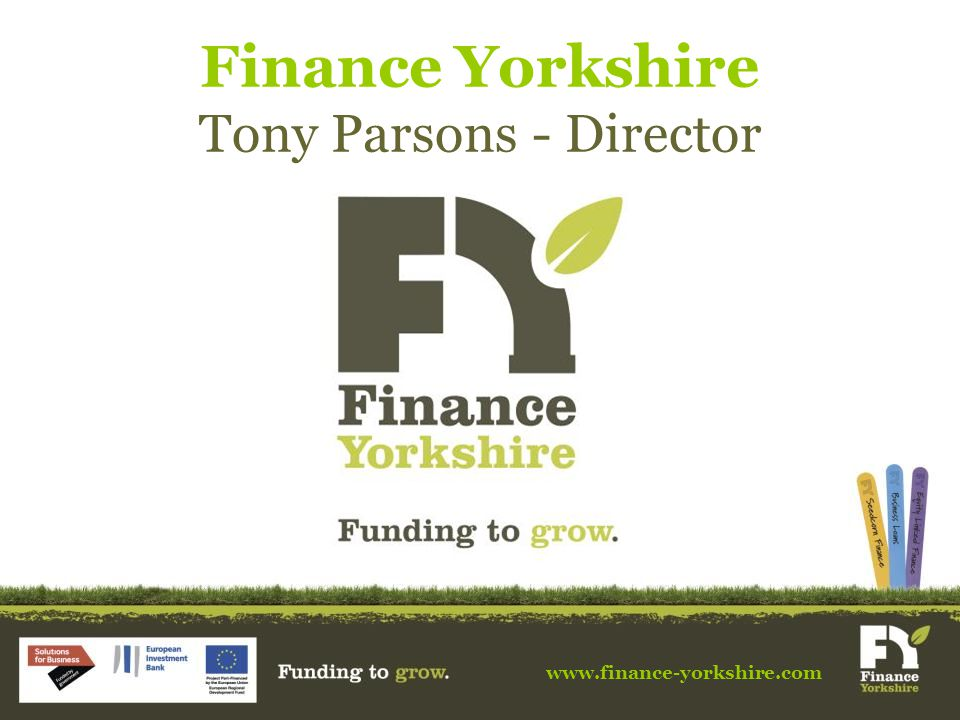 Finance Yorkshire Tony Parsons - Director