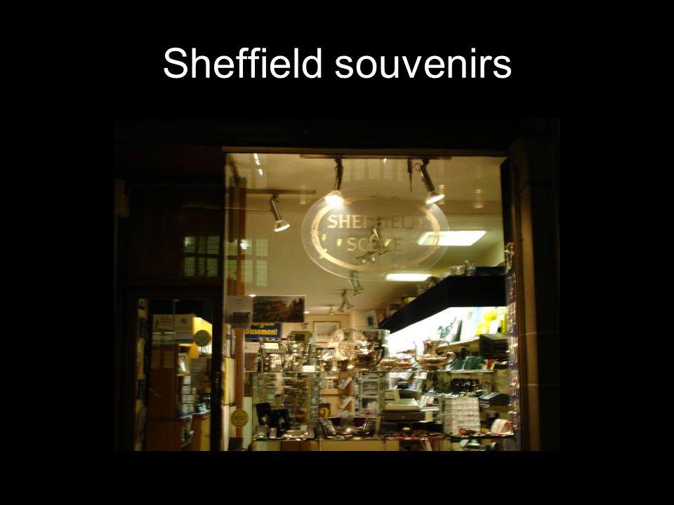 Sheffield souvenirs