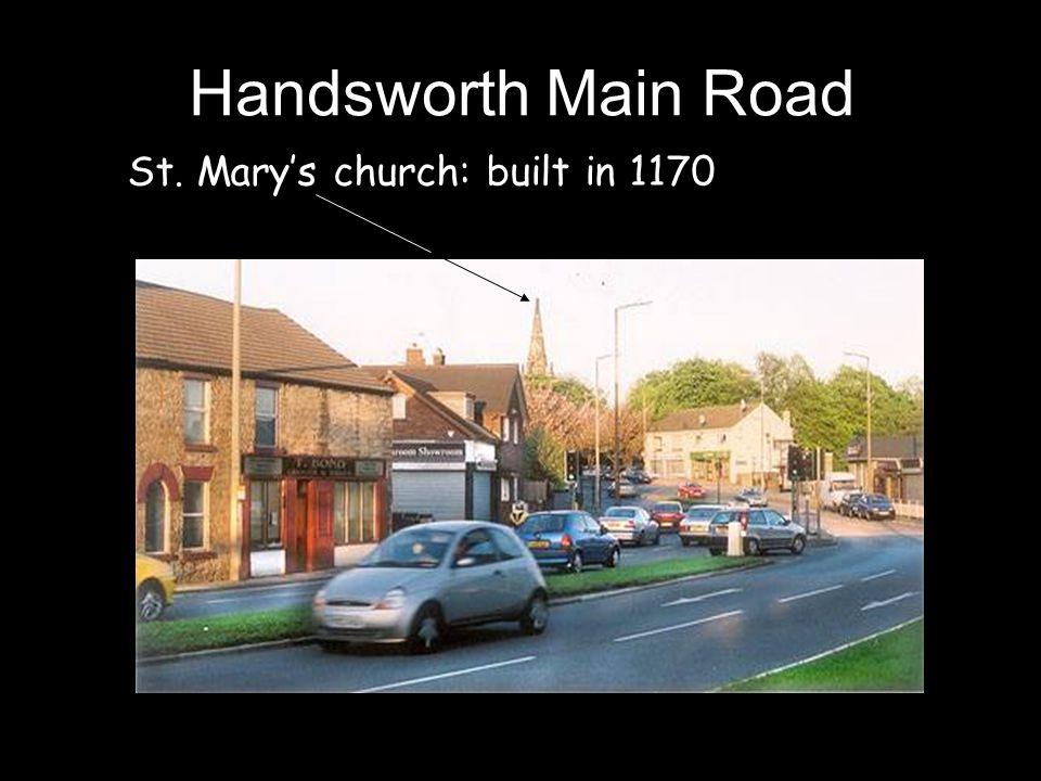 Handsworth Main Road St. Mary's church: built in 1170