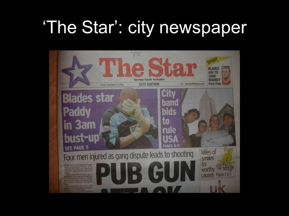 'The Star': city newspaper