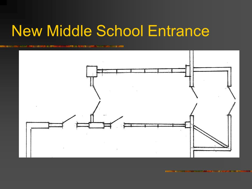 New Middle School Entrance