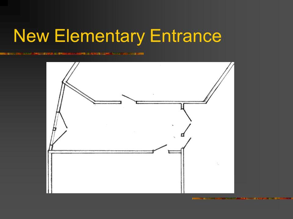 New Elementary Entrance