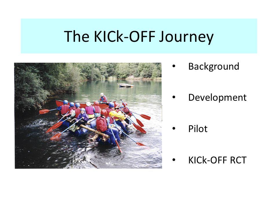 The KICk-OFF Journey Background Development Pilot KICk-OFF RCT