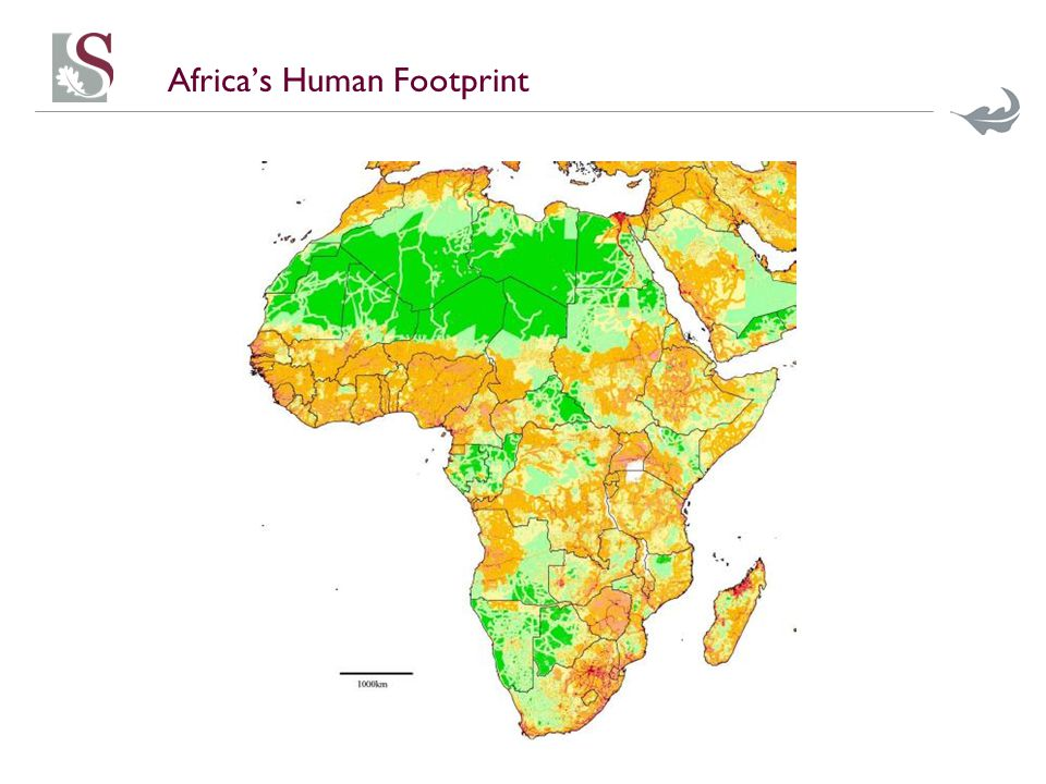 Africa's Human Footprint