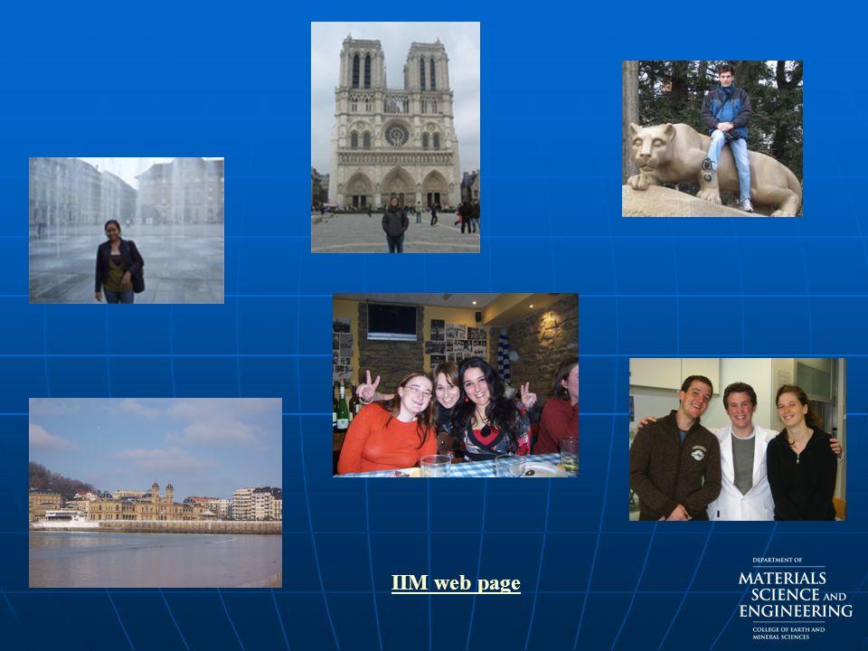 IIM web page