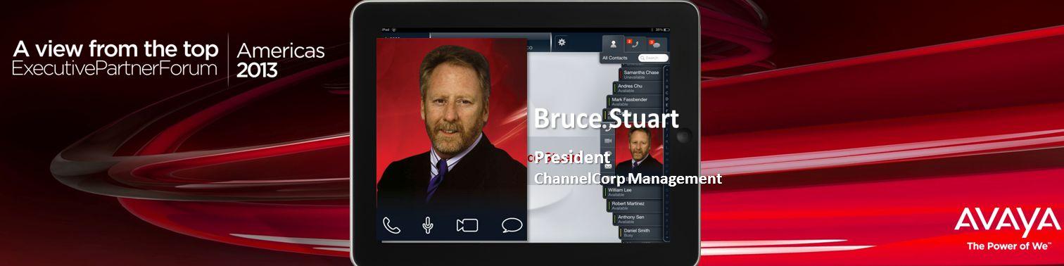 Haga clic para modificar el estilo de título del patrón Bruce Stuart President ChannelCorp Management