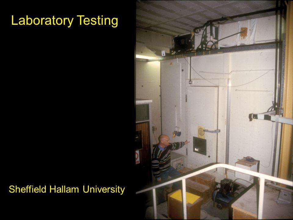 Laboratory Testing Sheffield Hallam University