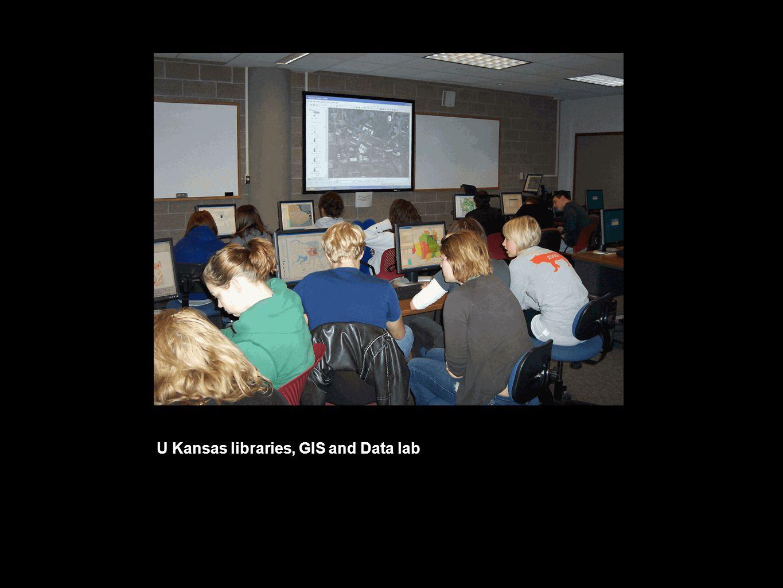 U Kansas libraries, GIS and Data lab