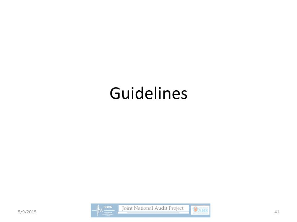 Guidelines 5/9/201541