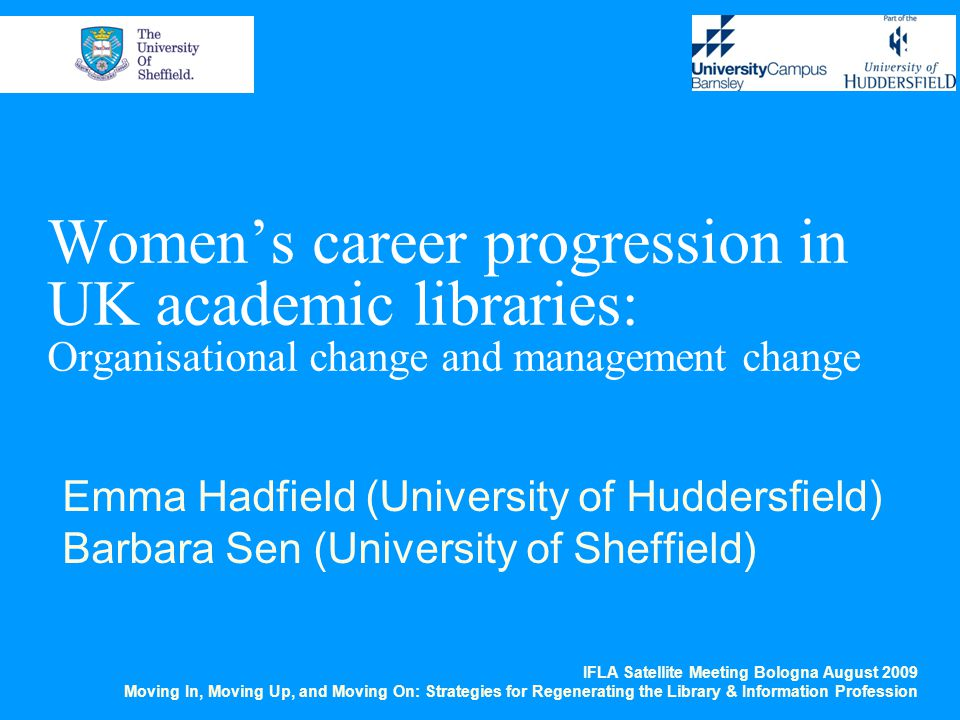 The future being… 33% felt no further improvement needed 66% commented on childcare, flexible working, confidence and training (all important for both women and men) Achievement of women both noticeable and impressive – BUT some issues still remain