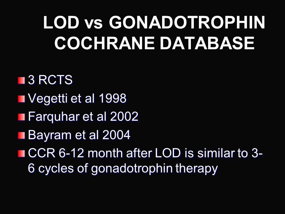 PCOS & Ovarian Diathermy Why bother doing laparoscopic diathermy or drilling of the ovaries? How should it be done?
