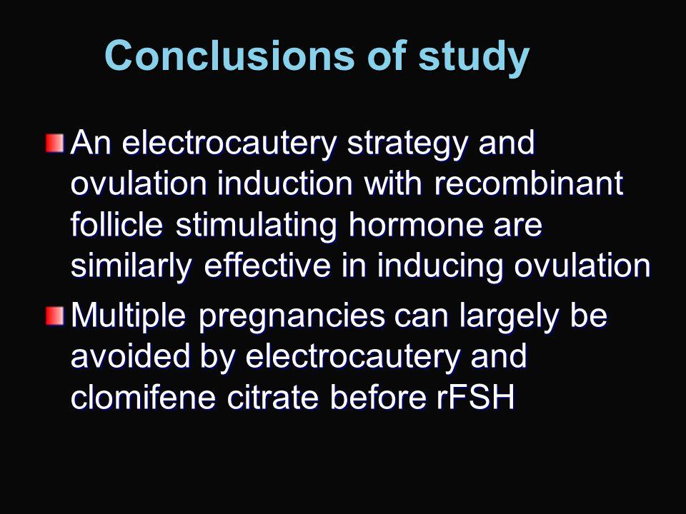 LOD versus FSH Bayram et al, 2004 Treatment Regimen No of women Pregnant(%)MiscarryMultipleLB(%) LOD strategy LOD LOD 83 (100) 31 (37) 3- 28 (34) LOD