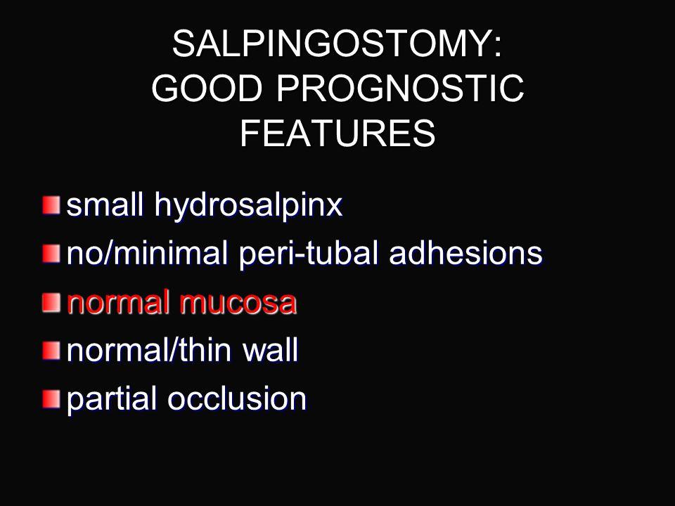 MICROSURGICAL SALPINGOSTOMY