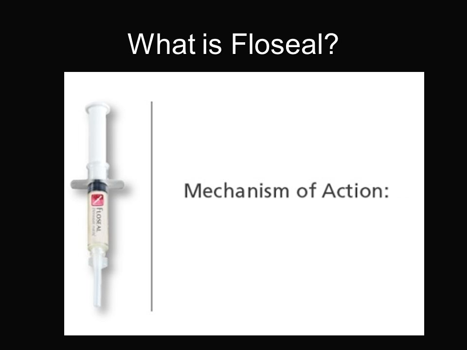 Floseal Haemostatic Matrix (Baxter) FLOSEAL is indicated in surgical procedures (other than ophthalmic) as an adjunct to haemostasis when control of b
