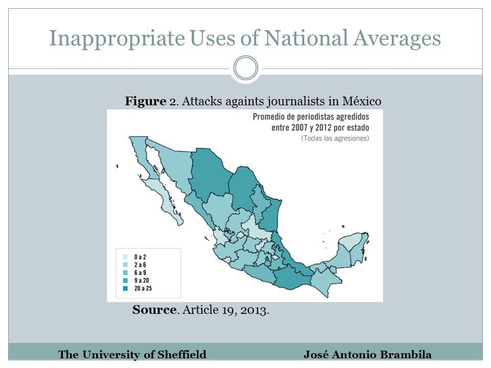 Inappropriate Uses of National Averages The University of Sheffield José Antonio Brambila Figure 2.