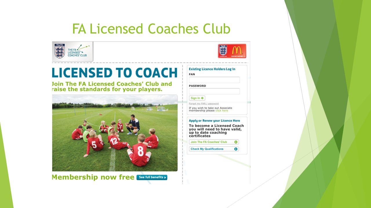 FA Licensed Coaches Club