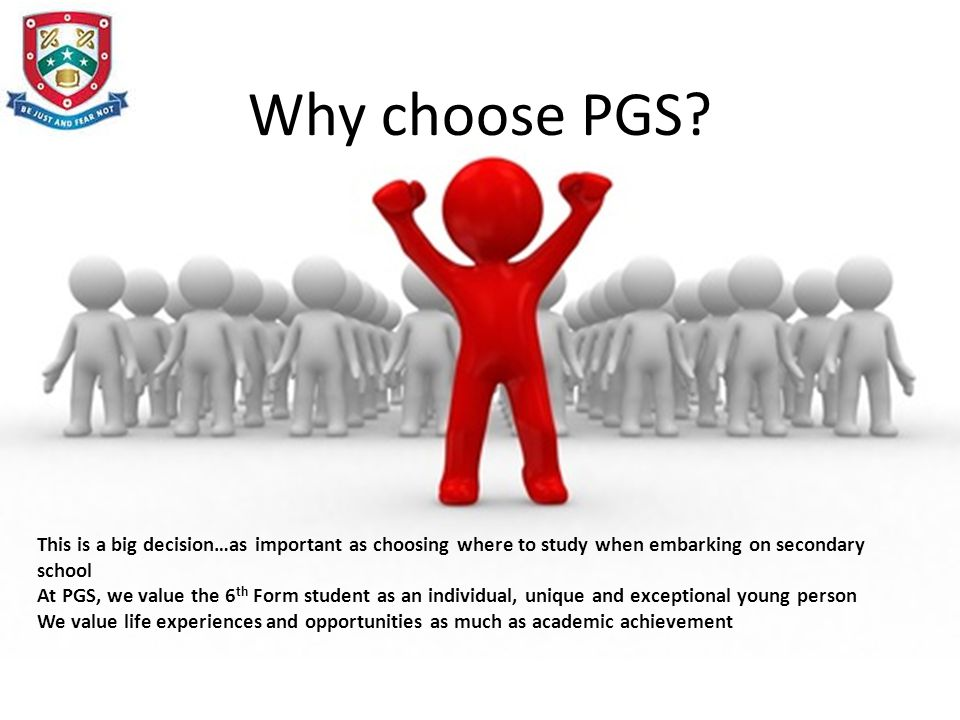 Why choose PGS.