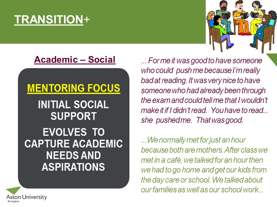 TRANSITION+ Academic – Social...