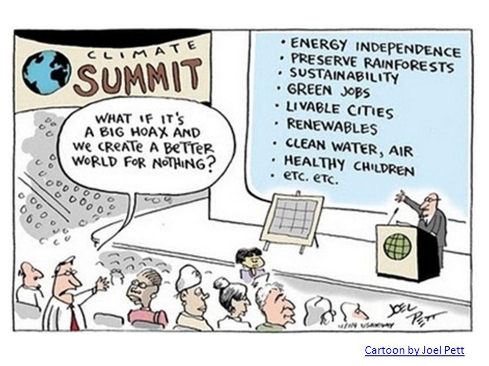 Cartoon by Joel Pett