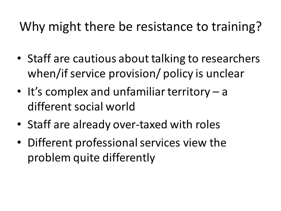 Q6 How should training be delivered.