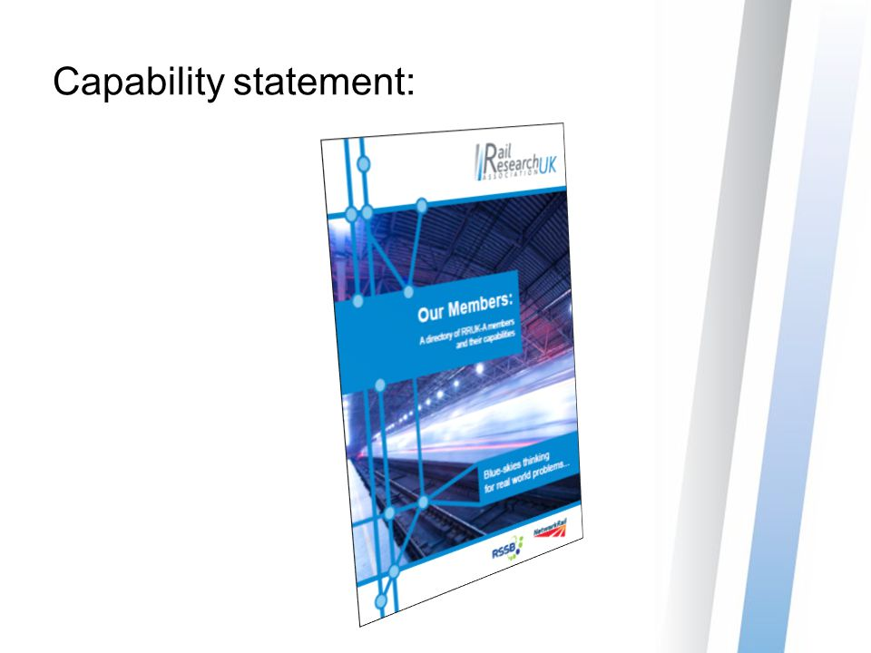 Capability statement: