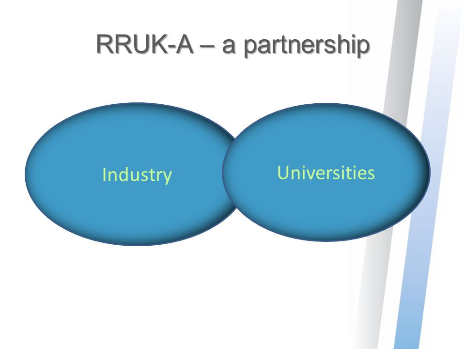 RRUK-A – a partnership Industry Universities