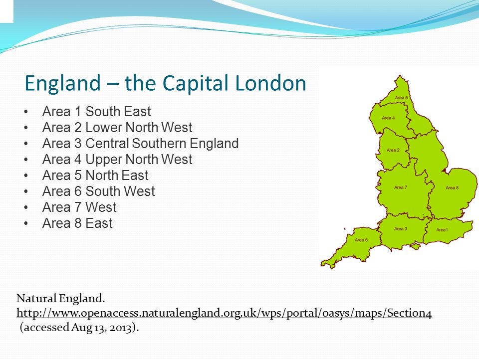 Geography England is a country that is part of the United Kingdom.