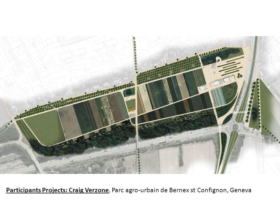 Participants Projects: Craig Verzone, Parc agro-urbain de Bernex st Confignon, Geneva