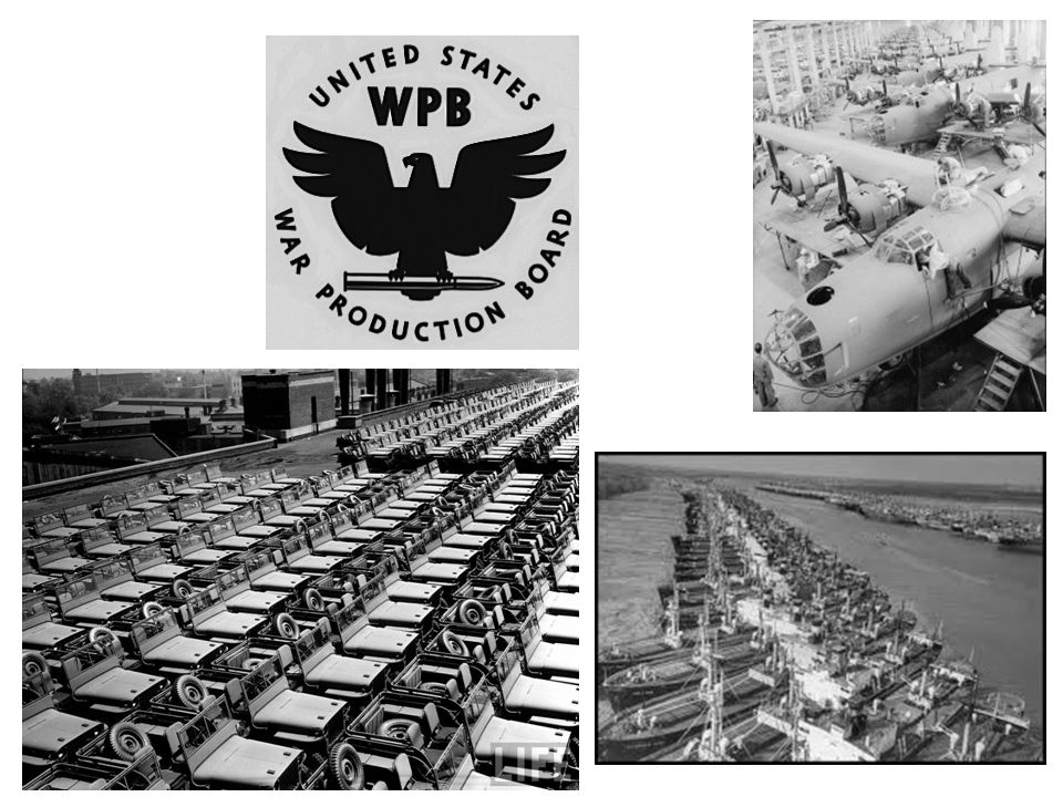 a.Victory Gardens and Scrap Drives i.Americans planted gardens to produce more food for the war effort.