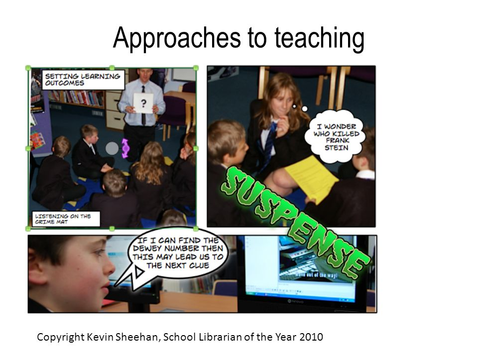Approaches to teaching Copyright Kevin Sheehan, School Librarian of the Year 2010
