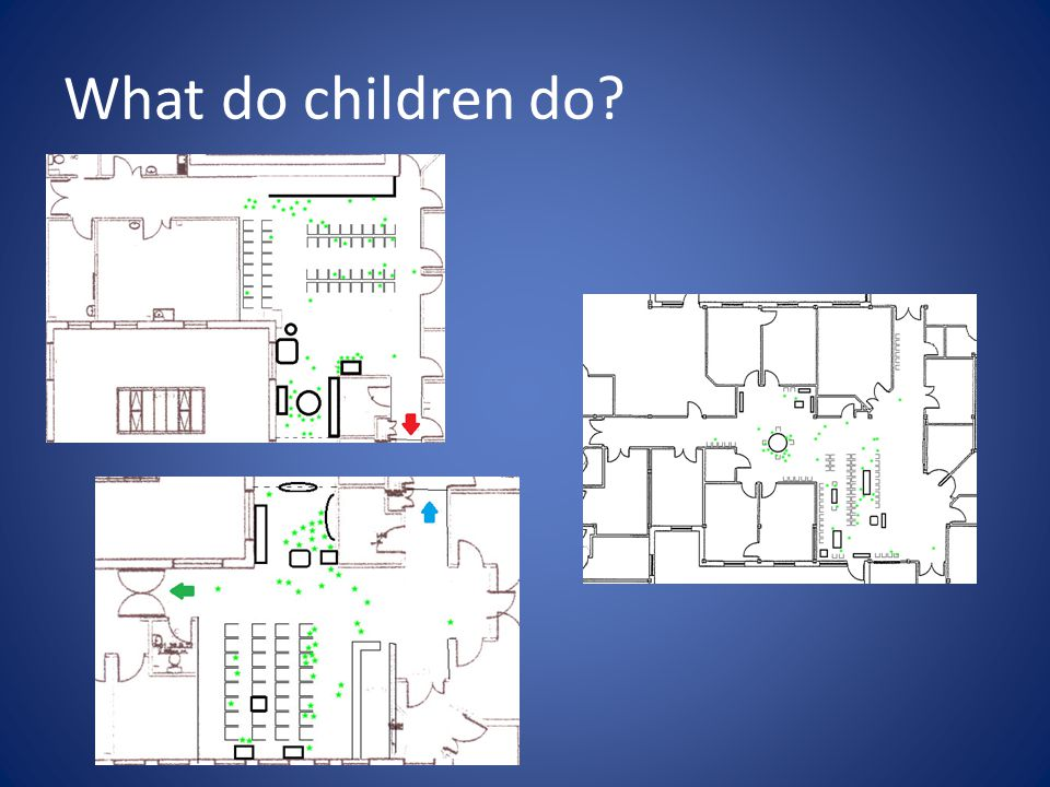 What do children do?