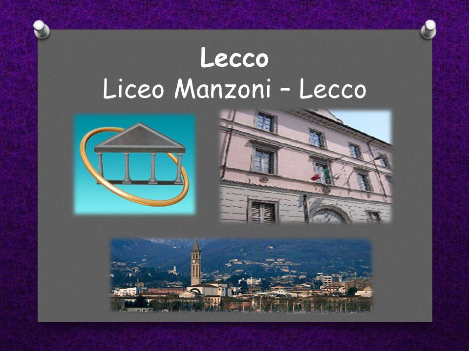 Lecco Liceo Manzoni – Lecco