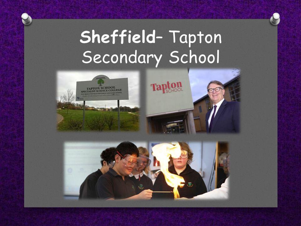 Sheffield– Tapton Secondary School